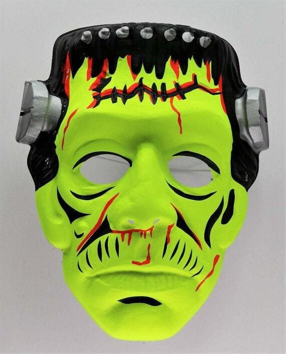 Vintage Collegeville Frankenstein Halloween Mask U
