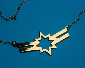 CAROL DANVERS Captain Marvel Carol Corps inspired necklace - 3 colors available