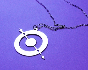 HAWKEYE inspired - necklace - 2 colors available