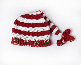 8bf90b7055cfc Elf Hat or Kids Christmas Hat - Size   Newborn - Child