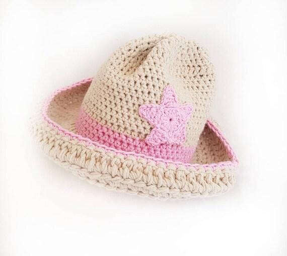 b1bce07a9bafb Baby Cowgirl Hat   Western Newborn Cowgirl Hat   Girls Hat.