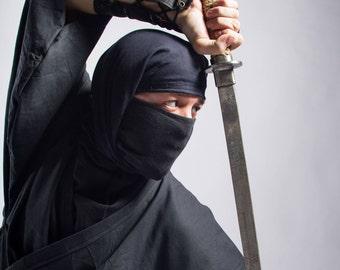Iga-shozoku - costume or spy-suit of ninja from Shinobi no Mono