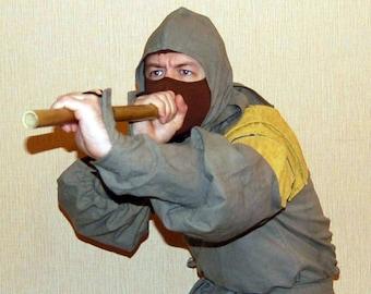 Evil Ninja vintage costume from 80's Ninja 3: Domination movie