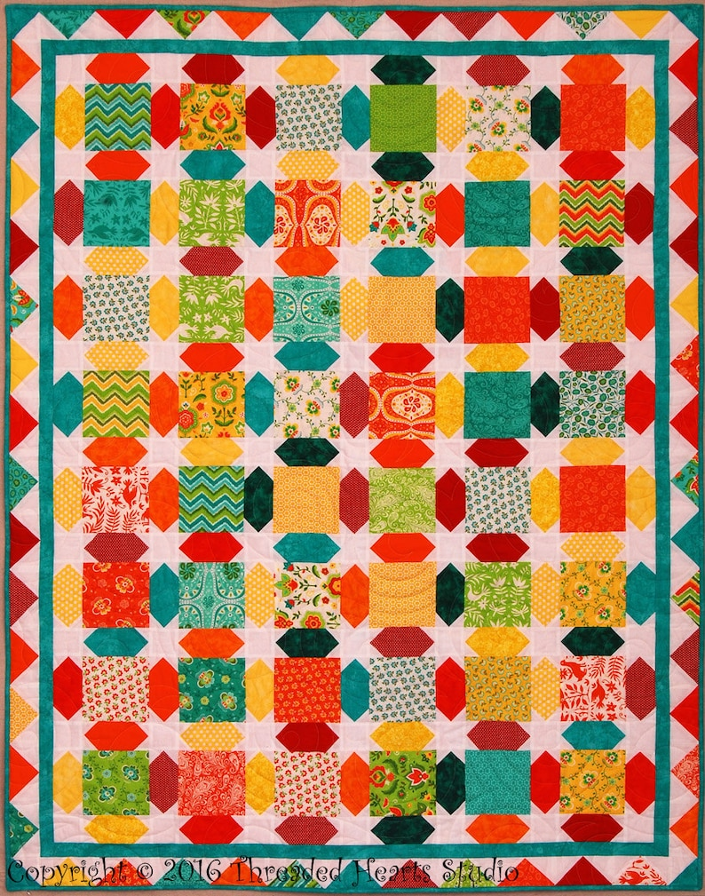Candy Wafers Quilt image 0