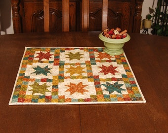 8-point Star Table Quilt