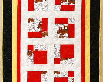 Teddy and Me Quilt