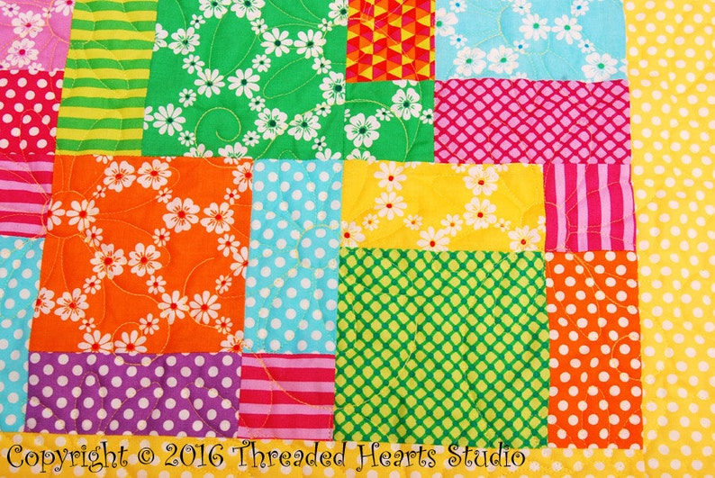 Baby Quilt Blocks of Time