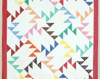 Patchwork Geese Quilt