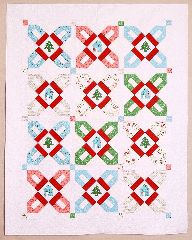 Christmas Village Quilt image 0
