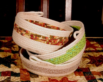 Coil Rope Bowls/Baskets