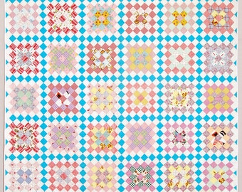 Blocks of Time Vintage quilt
