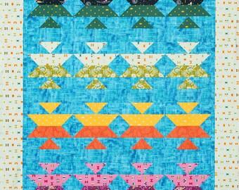Aztec Beauty Twin/Lap Quilt