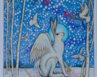 Giclee print 'Solstice Angel'