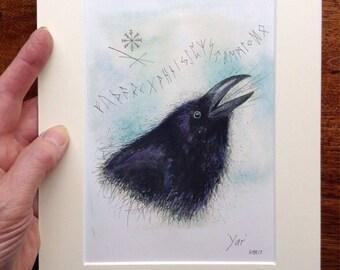 Hand finished Print 'Yar'