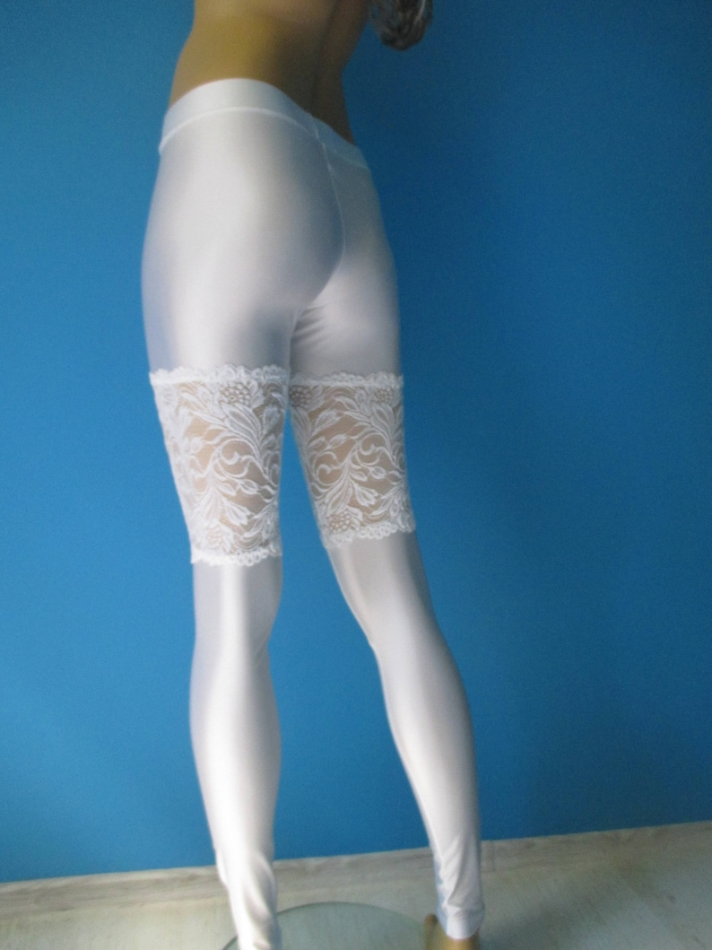 7e0c1578f Thigh high bridal stockings thigh high faux lace stay-ups hold