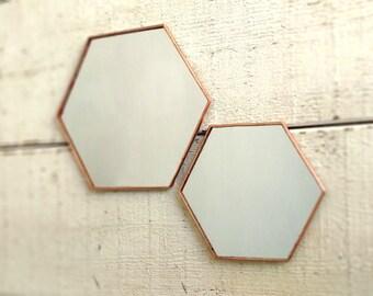 Kleine 3 Zeshoek Spiegel Honingraat Spiegel Geometrische