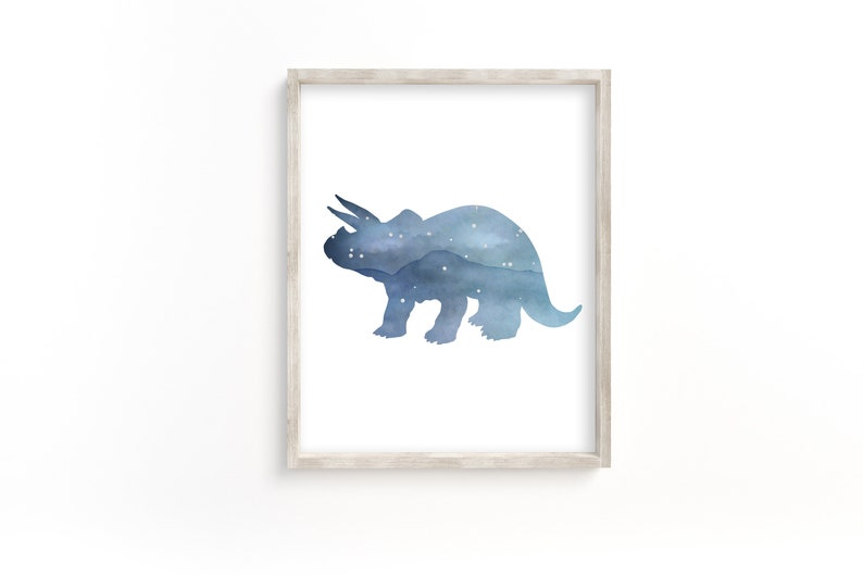 Printable Dinosaur Wall Art Set 16x20 Prints Dinosaurs 11x14 Downloadable For 8x10 Digital Download 4 Dinosaur Printables