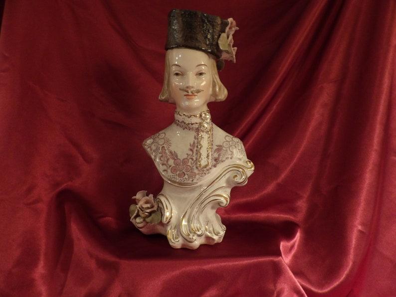 Cordey Extra Large RARE Size GentlemanRussian or Bavarian Figurine circa 1940/'s