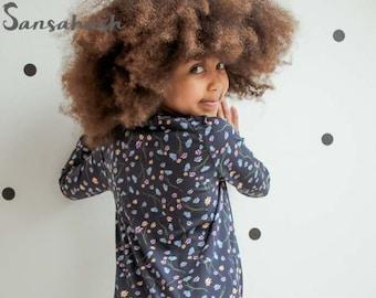 Kenja Pyjamas onesie jumpsuit| PDF Pattern for boys and girls| Raglan Nightgown| Christmas| Unisex pyjamas|Digital Pattern|family pyjama