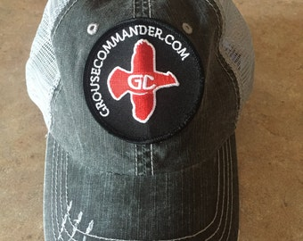 Grouse Commander Mesh Patch Hat