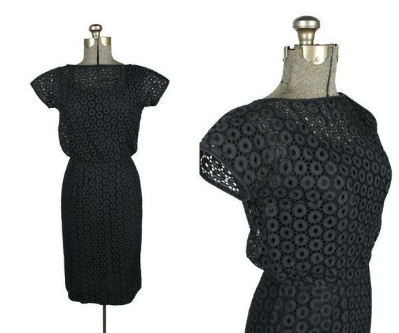 1950s Lord & Taylor Dress, 1950s Wiggle Dress, 19… - image 1