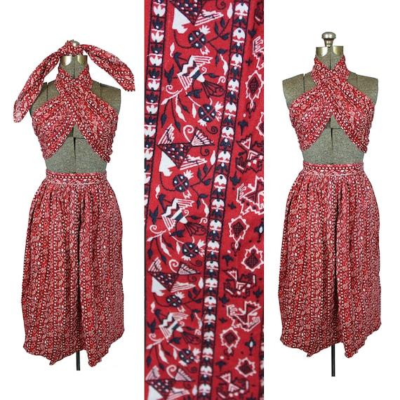 1950s Skirt Set, 1950s Three Piece Set, Vintage Wr