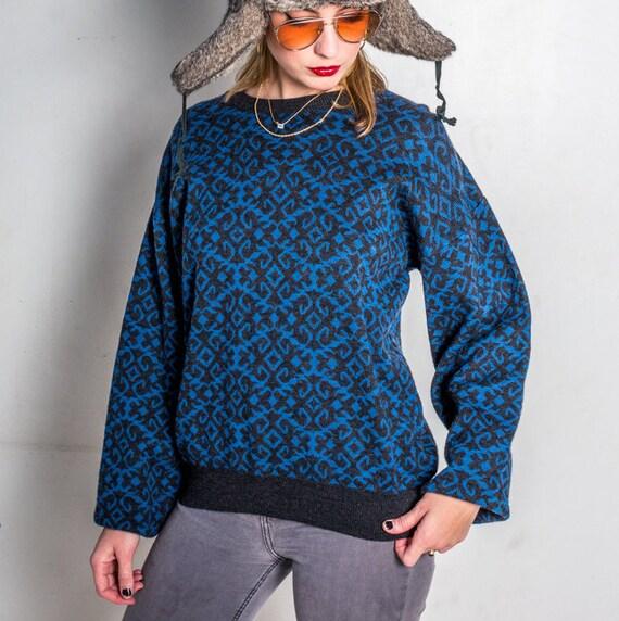 Vintage Dior Sweater, Christian Dior Sweater, Vint