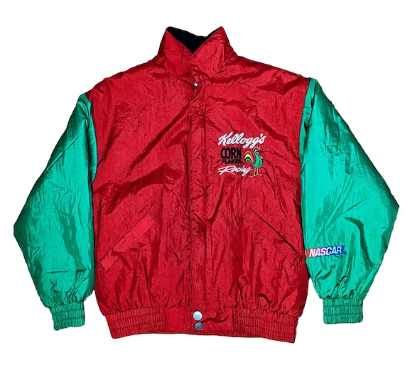 Vintage Kid's Nascar Racing Jacket, Chase Authenti