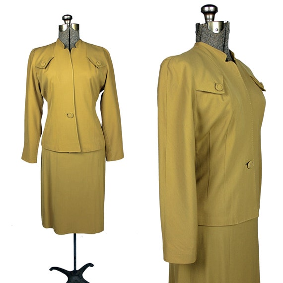 1930s Skirt Suit, 1940s Victory Suit, Women's 1930