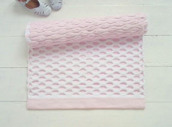 Weiss Und Rosa Kinderzimmer Teppich Baby Madchen Teppich Etsy