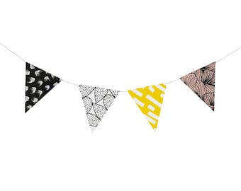 "Do it yourself ""Austral 2"" paper pennant banner (8 pennants)"
