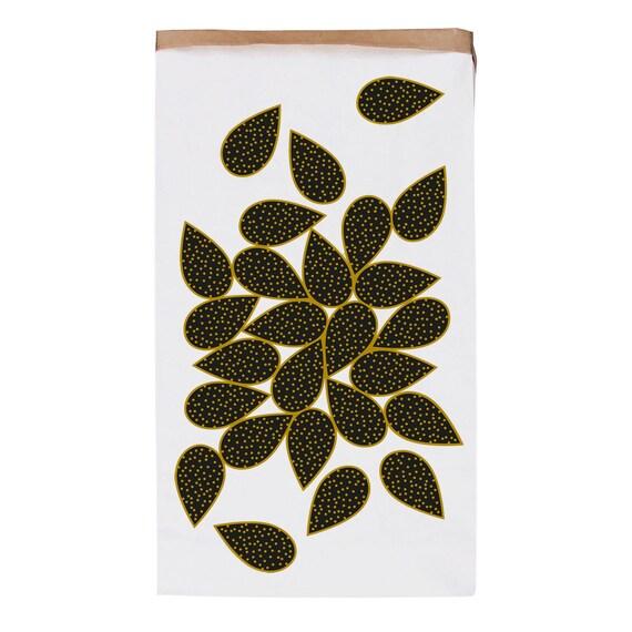 sac de rangement en papier kraft pais botanika etsy. Black Bedroom Furniture Sets. Home Design Ideas