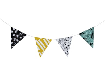 "Do it yourself ""Austral"" paper pennant banner (8 pennants)"