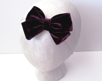 Purple Baby Headband  Baby Headband  Toddler Headband  Baby Shower  Baby Bow  Newborn Gift  Baby Gift  Purple Headband
