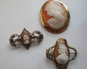 Group Of Victorian Cameos