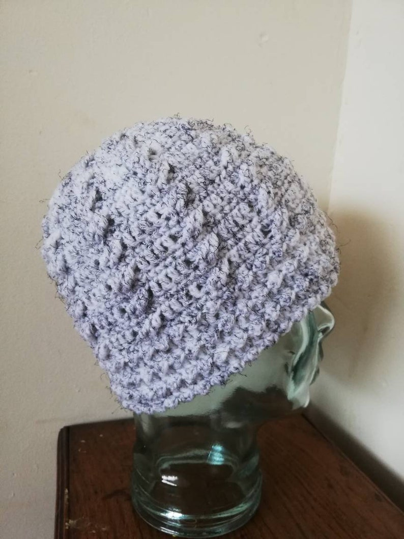 Crochet cable beanie FREE SHIPPING UK