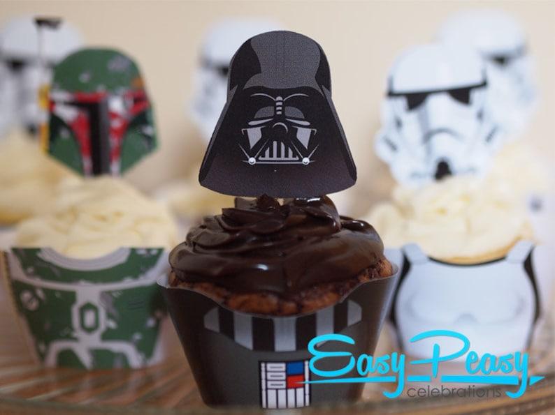 Star Wars Inspired Cupcake Set 1 image 0