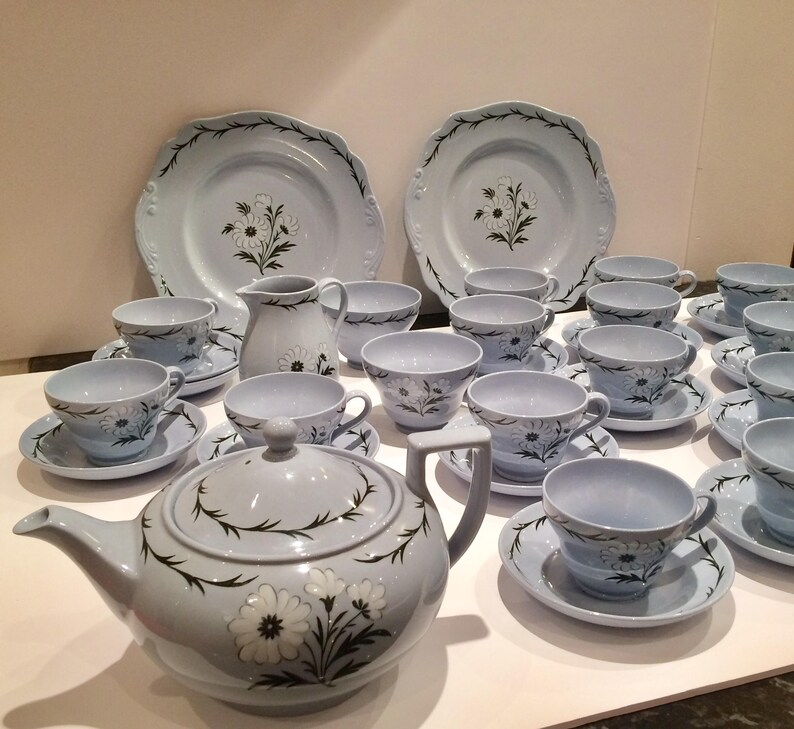 12 Tea Cup Sets Wedgwood China Teaset Wedgewood Tea Cup Saucer Etsy