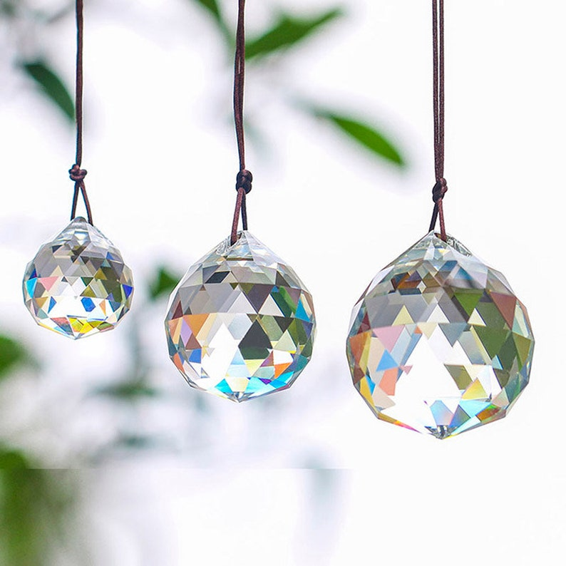 Responsible 10pcs Red 40mm Crystal Chandelier Hanging Pendant Crystal Ball Glass Prism Drop Pendant With Free Hooks Lighting Accessories