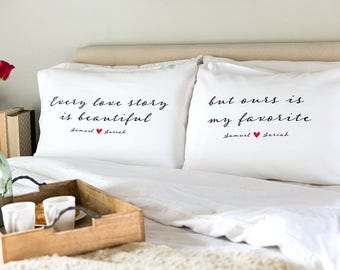 Personalized Romantic Pillowcases  86bd2b67d