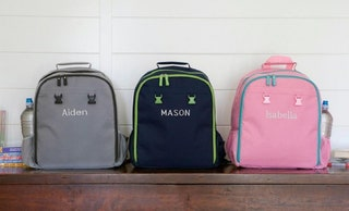 Qualtry Personalized School Backpacks For Children - High Quality - With Two Interior Pockets, Exterior Side Pockets