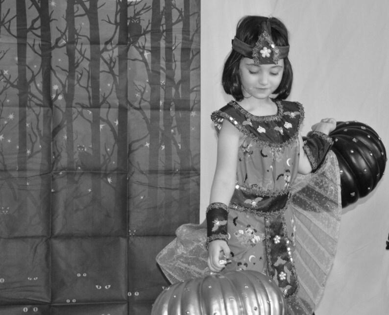 Mickey mouse Cleopatra costume Minnie Mouse Headband Handmade Halloween dress Girl