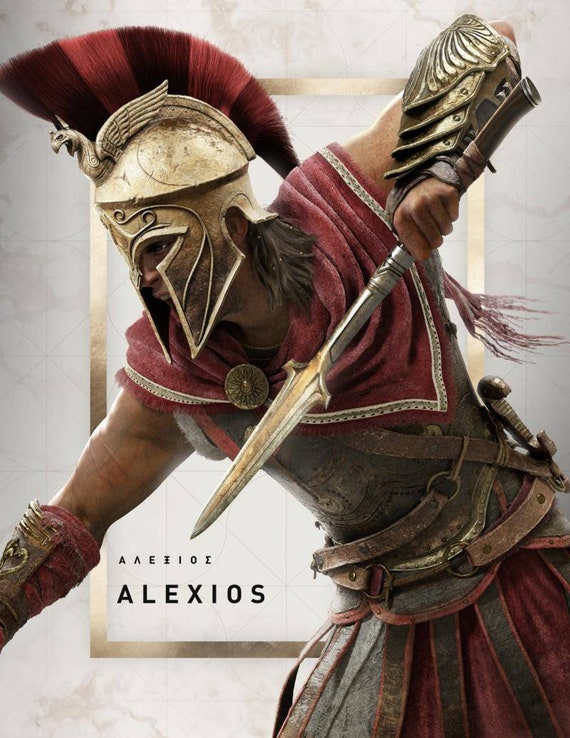 Assassin S Creed Odyssey Inspiration Costume Etsy