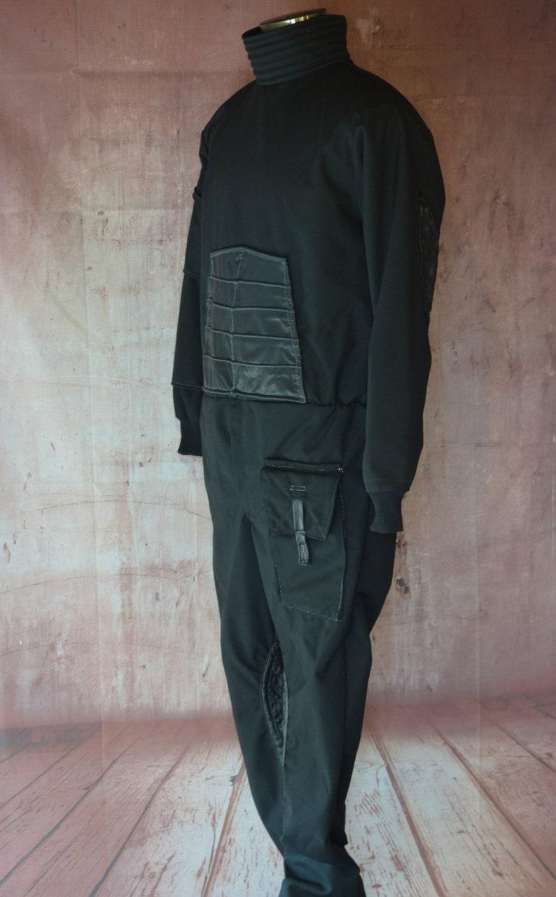 Make Your Own Mandalorian style flight suit jumpsuit Mercs  721a2f67f