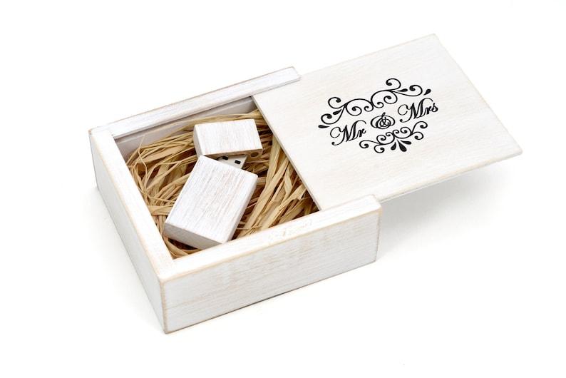 Wedding Gift Memory Box Wooden White Memory Box Gift For Wedding Weddings Gift Usb Wood Custom Made Wedding Gift Wedding Box Gift Usb