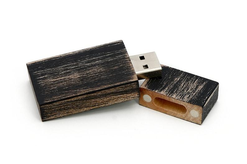 Maple Wood 2.0 USB Flash Drive 10 pieces of 128MB8GB16GB Nightshade Black Wood Wash
