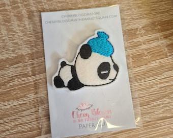 Sick Poorly Headache Hungover Panda Paper Clip