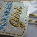 Planner Girl Paper Clip in Baby Blue and Gold