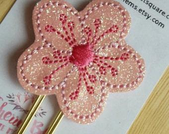 Sakura Cherry Blossom Paper Clip