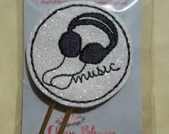 Music Headphone Paper Clip